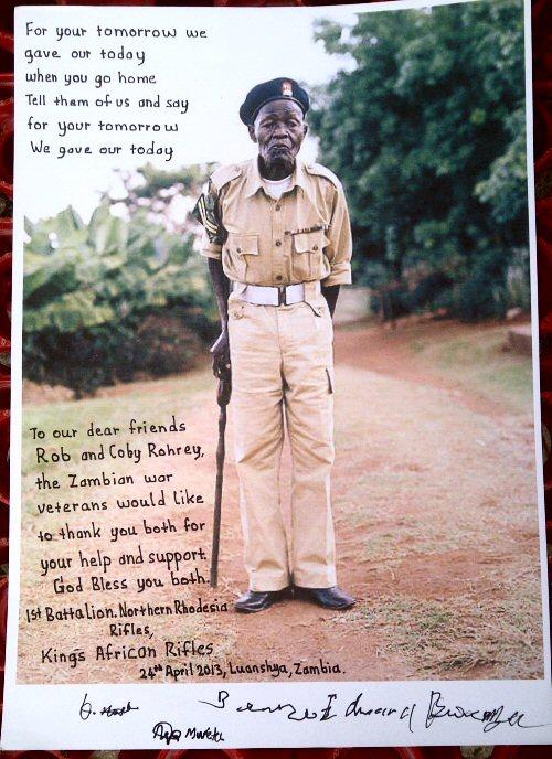 Zambian War Veterans